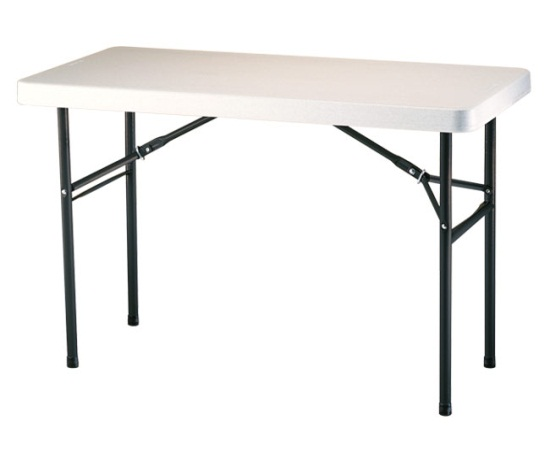 table – 4 foot – 24″ wide – 30″ high – fiesta ottawa