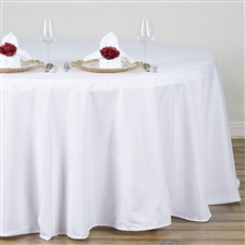 Round Table Covers 132""